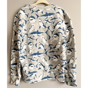 H&M Shirts & Tops - H&M Boys Shark Sweatshirt